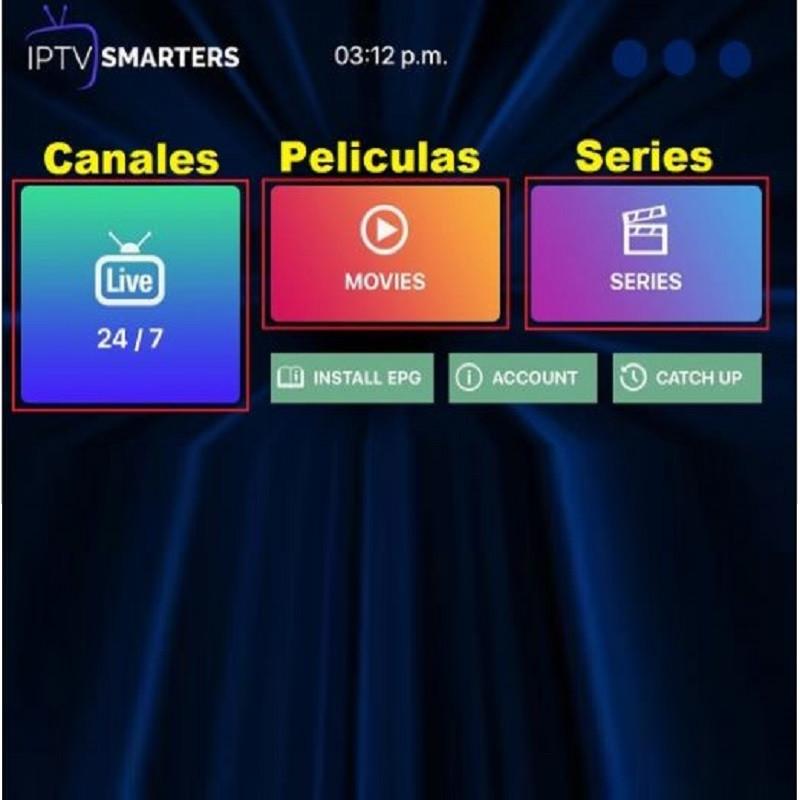 Plan Canales IPTV, canales TV solo con internet.